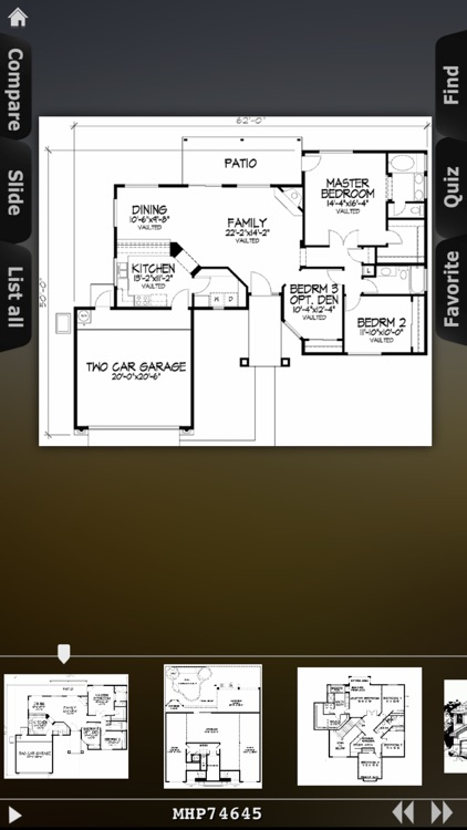 House Plans - Mediterranean screenshot-3