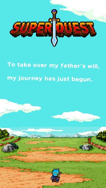 Super Quest - Spare time RPG screenshot-3