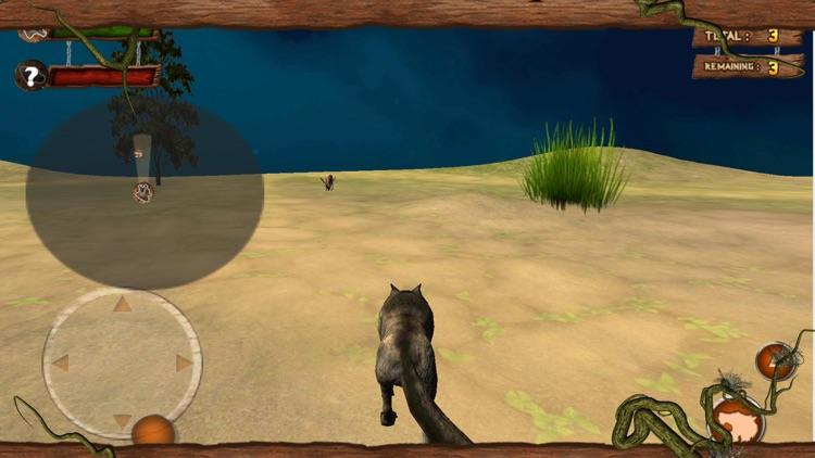 Wild Attack Wolf Simulator 3D screenshot-3