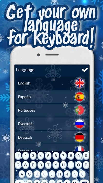 Winter Keyboard Theme – Frozen Skins, Emoji & Font screenshot-3