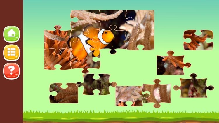 Animal Photo Jigsaw Puzzle Games HD screenshot-3