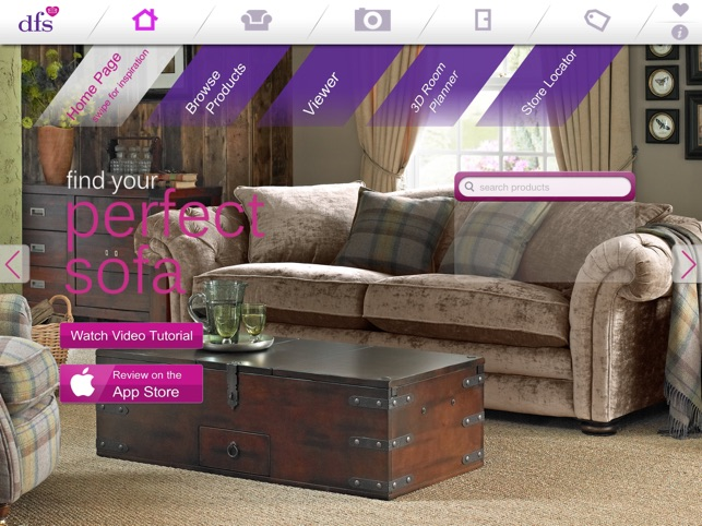 dfs sofa and room planner on the app store