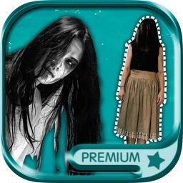 Halloween ghost photo stickers photo editor - Pro