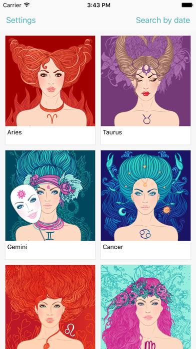 Zodiac signs - Astrology Screenshot
