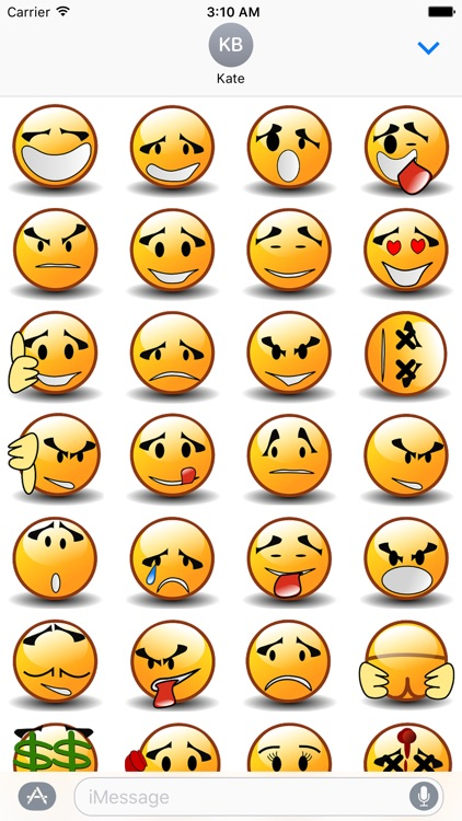 Smiley-Stickers