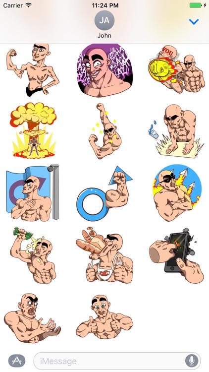 Like A Man Stickers