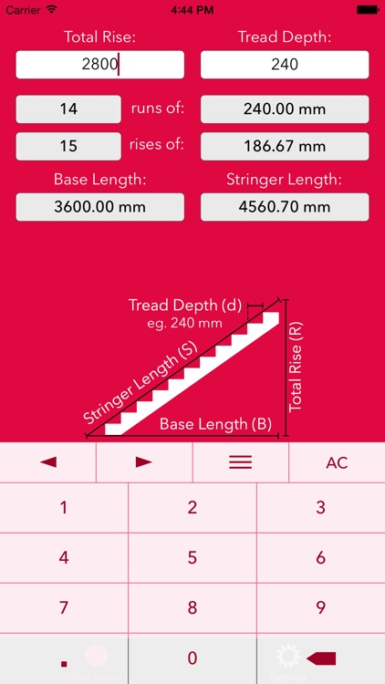 Stair Help – Staircase Riser + Stringer Calculator