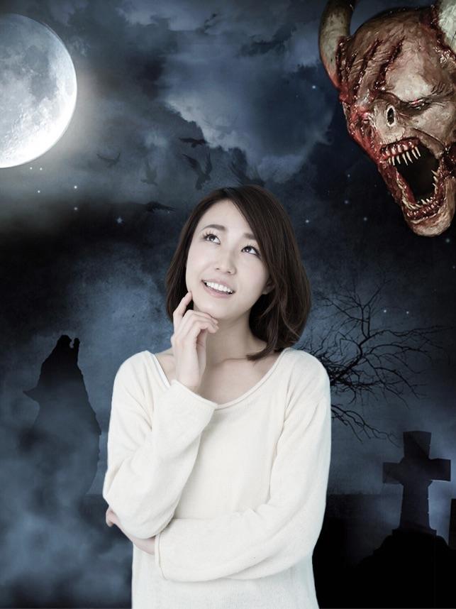 Cắt dán ảnh Halloween Stickers biên tập ảnh