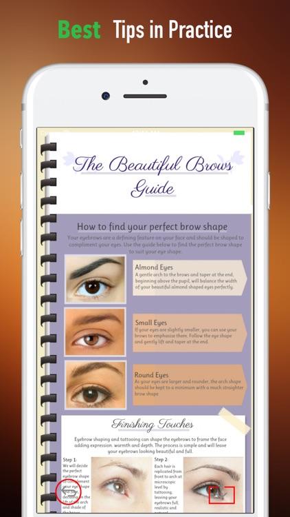 How to Shape Eyebrows-Perfect Eyebrow Shape screenshot-3