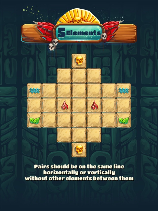 5 Elements Puzzle Game Screenshot