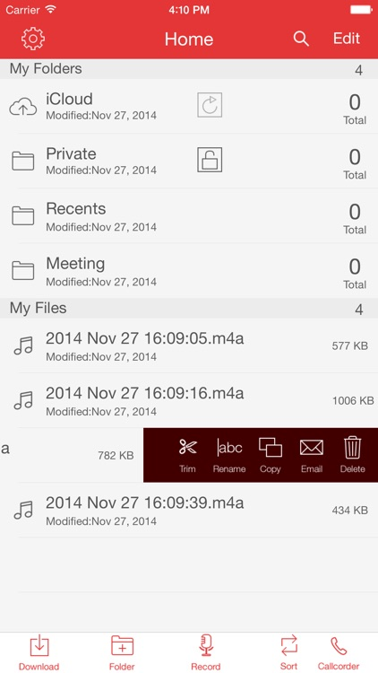 Recorder Pro: Professional Voice Recorder screenshot-2