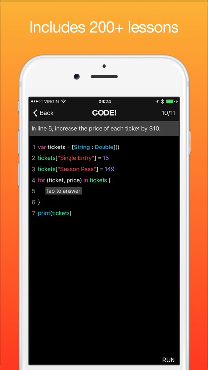 Code! Learn how to program - Swift Version screenshot-3