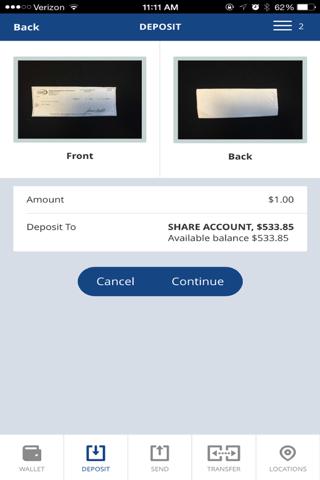 STFCU Mobile Banking - náhled