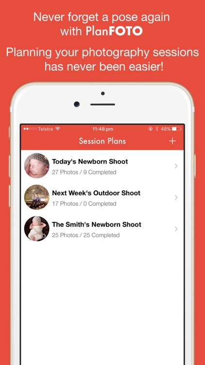 PlanFOTO - Session Planner for Pro Photographers