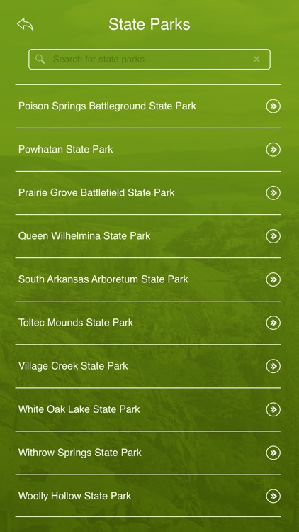 Arkansas State Parks Guide