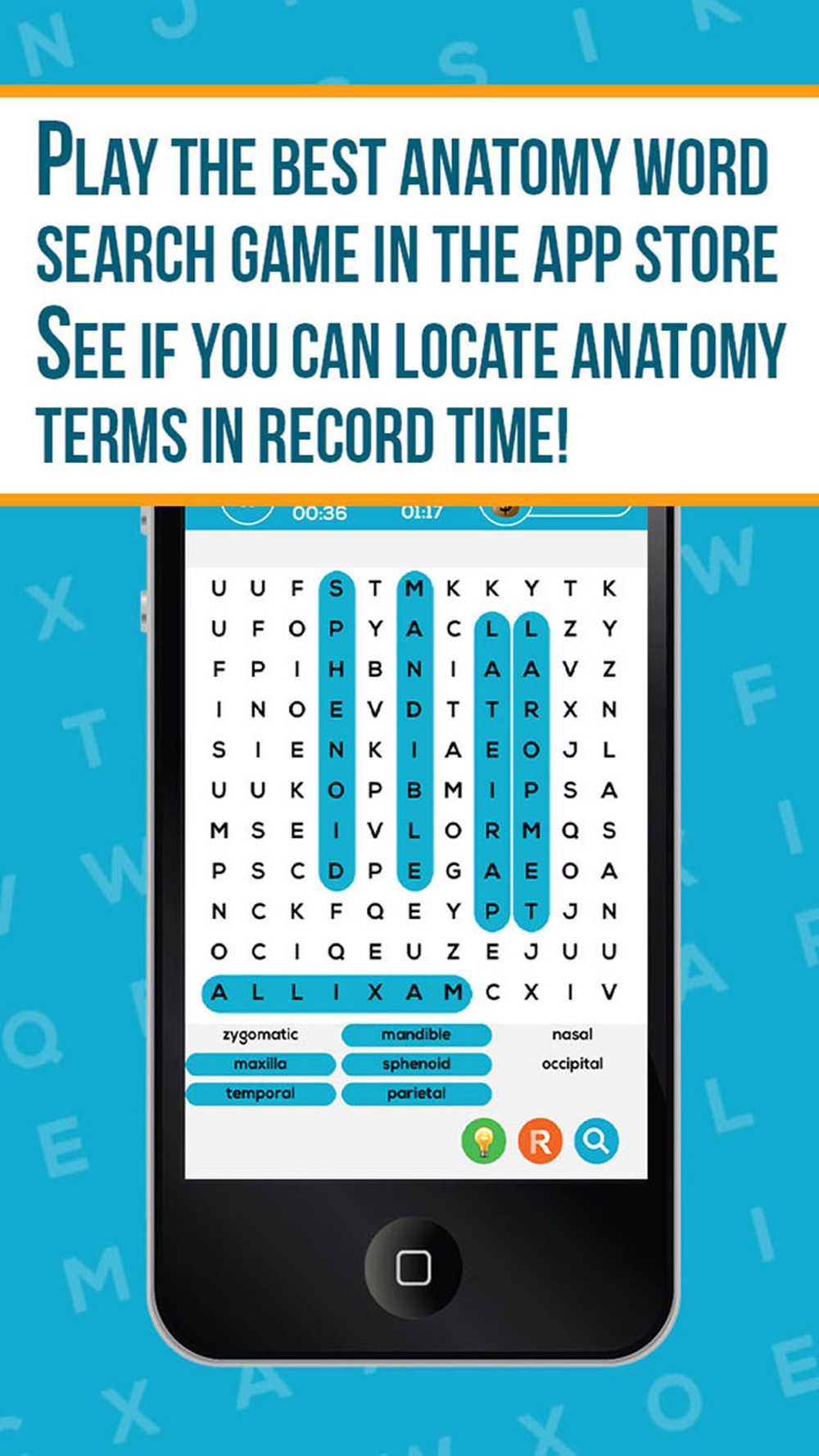 Anatomy Word Search- Medical Terms Game Cheat Codes