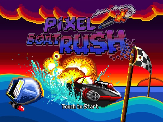 Pixel Boat Rush For iOS Hits Free For First Time In A Month