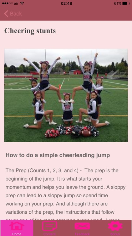 Cheerleading Cheers For Cheerleaders screenshot-3