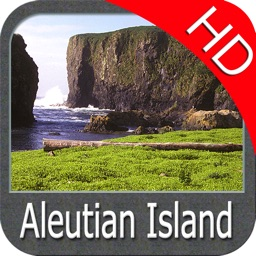 Marine : Aleutian Islands HD - GPS Map Navigator