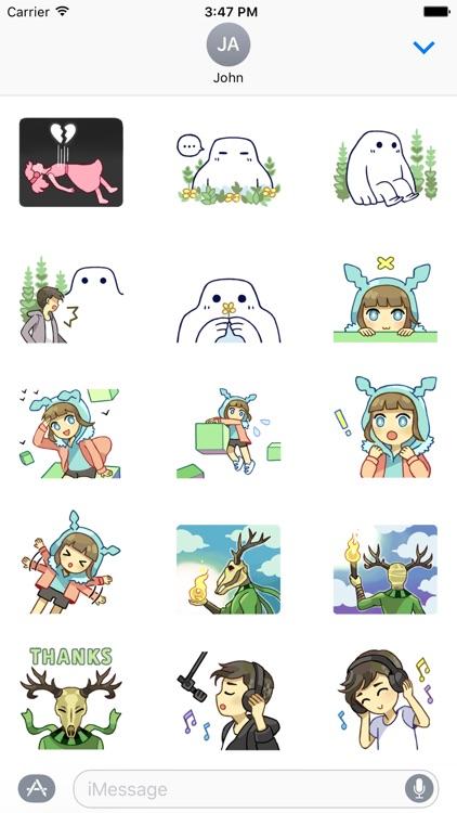 Porter Robinson Stickers