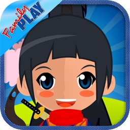 Ninja Girl Puzzles: Puzzle Games for Toddler