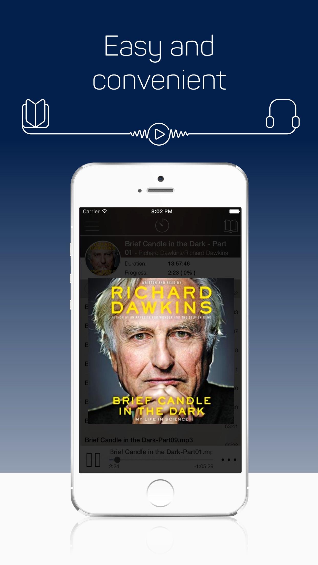 MP3 Audiobook Player - free listen any audiobooks Screenshot