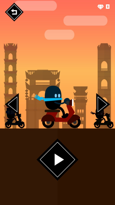 Rooftop Rider - Awesome Biking screenshot four
