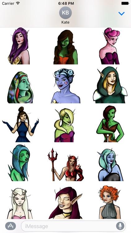 Elves Sticker Pack screenshot-3