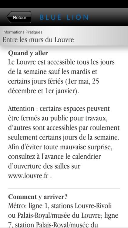 Paris - Histoire du palais du Louvre screenshot-4