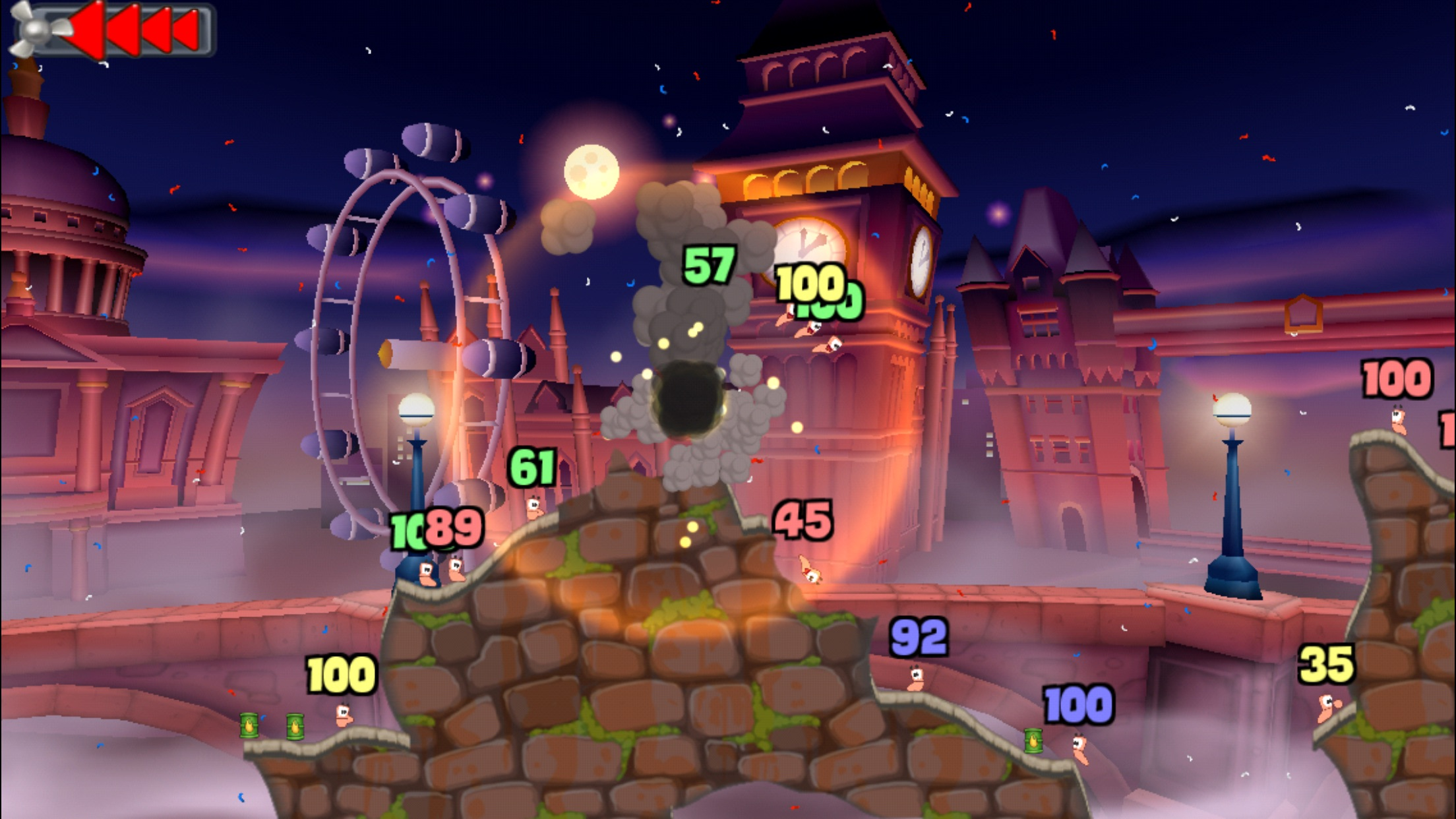 WORMS Screenshot