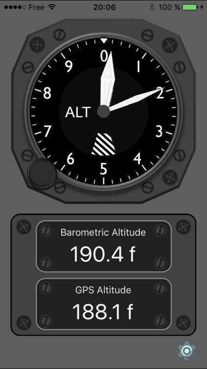 Barometric Altimeter PRO