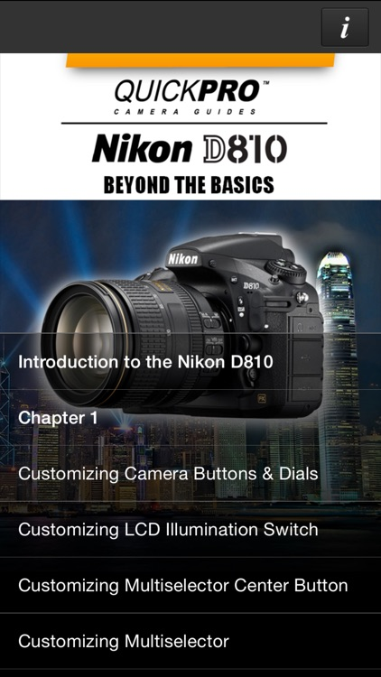 Nikon D810 Beyond the Basics from QuickPro HD screenshot-0