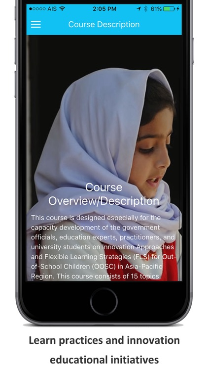 Innovation for Out of School Children (online courses)