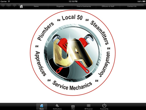 Screenshot of UA Local 50