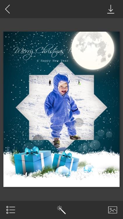 Xmas Santa Hd Frames - PicShop