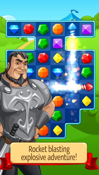 Screenshot #6 for Knight Girl - Match 3 Puzzle