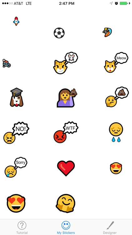 Emojimate Emoji Sticker GIF screenshot-2