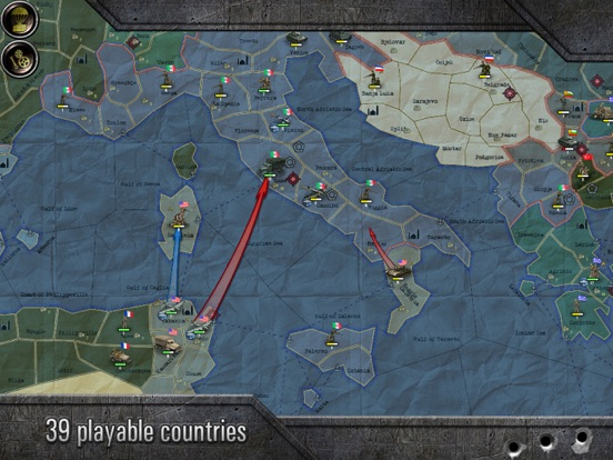 Screenshot #4 for Strategy & Tactics: Sandbox World War II TBS