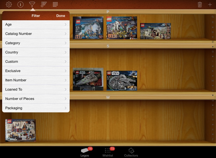LEGO Collectors for iPad screenshot-3