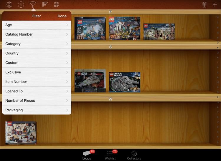 LEGO Collectors for iPad screenshot-3