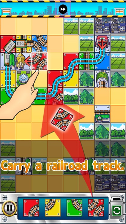 Express Train Dream Puzzle