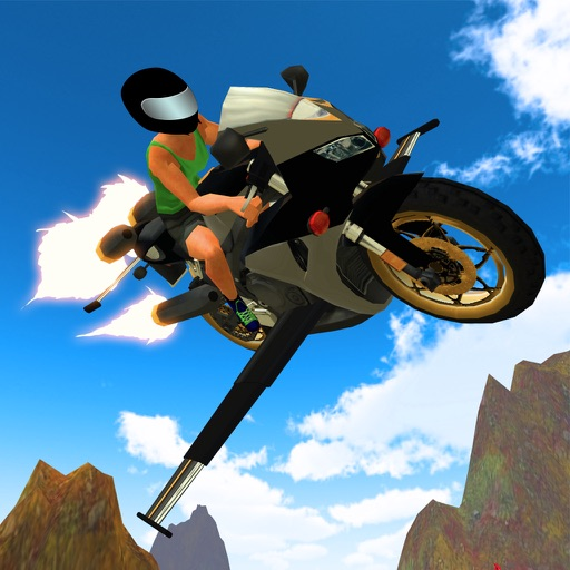 Flying Motorcycle Racing Simulator