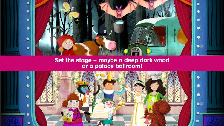 The Complete Fairytale Play Theater