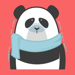 Big Panda Stickers - Gluttonous Bear Winter Emoji