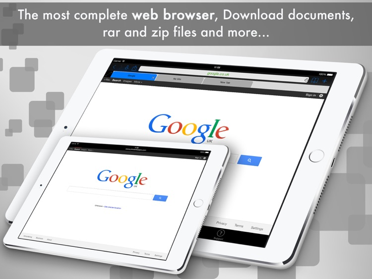 eDl HD Free - Web Browser and File Manager