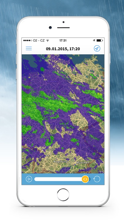 Wetterradar screenshot-3