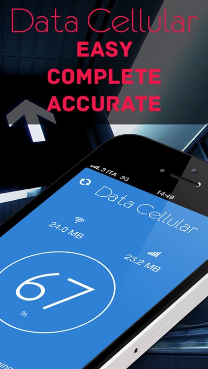 Data Cellular Counter Pro ( monitor data usage )