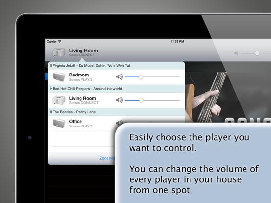 SonoPad for Sonos Screenshots