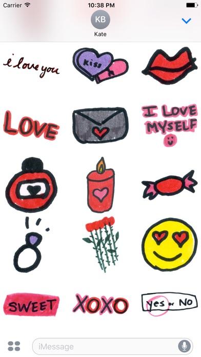 download Valentine Doodles apps 1
