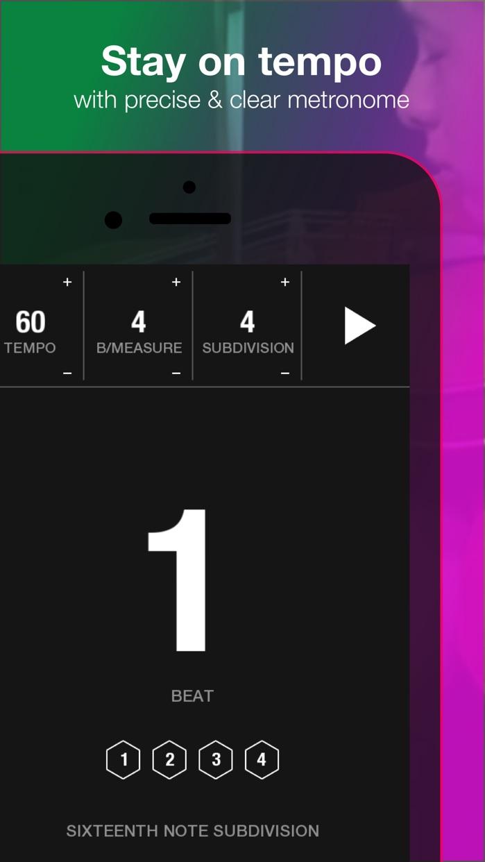 Tunable: Tuner, Metronome, and Recorder Screenshot
